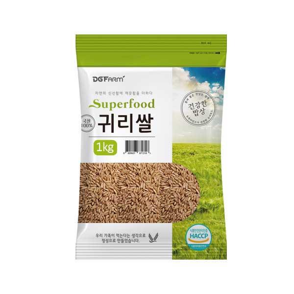 대구농산 2020년 건강한밥상 국산 귀리쌀, 1kg, 1개