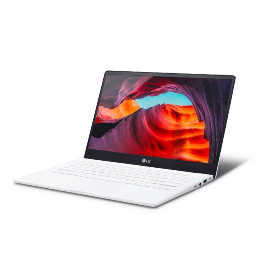 LG전자 울트라PC 화이트 노트북 13UD70P-GX70K (라이젠7-4700U 33.7cm WIN10 Home), 256GB, 윈도우 포함, 16GB