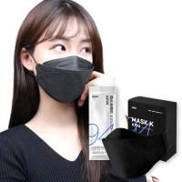 [블랙] Mask k 황사방역마스크 KF94 50매 / 100매 (TOP 2316638684)
