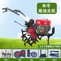 농업용 미니경작기 흙갈이 텃밭 관리기 밭갈이기계 소형 잡초제거기 전기, AR (TOP 4763418756)