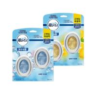 페브리즈 비치형 화장실용 상쾌한 비누향 6ml x 2개입 + 상큼한 레몬향 6ml x 2개입, 4세트 (TOP 264023646)