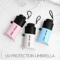 작고가벼운 우산겸양산 5단 초미니 양산 UV 자외선차단용 (TOP 5796877790)