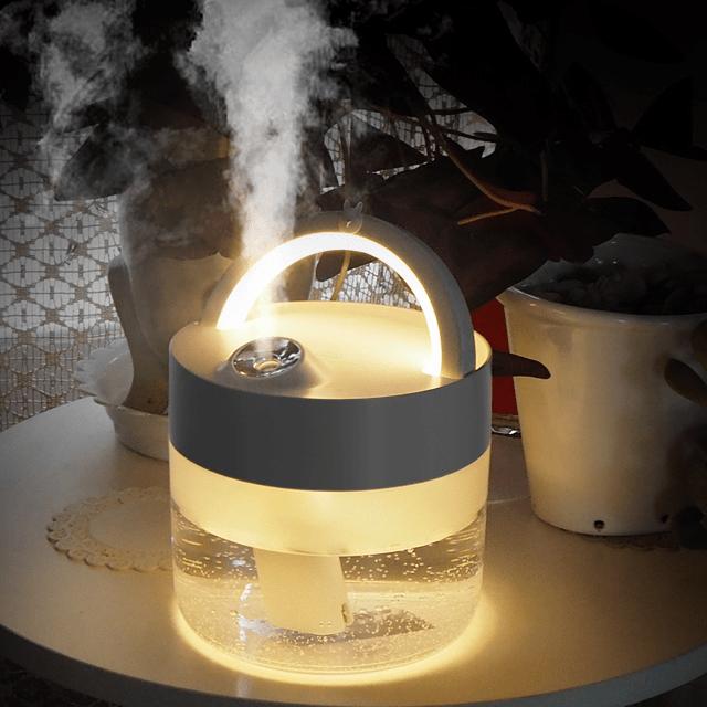 보스위즈 BOS-HM400 무선 무드등 램프 가습기 대용량 1000ml 국내출고 디자인특허(정품), 단일상품