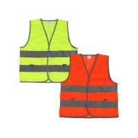 어린이 안전교육조끼 도로안전조끼 형광조끼 도로안전조끼 여름조끼 환절기조끼 단체조끼 신호수조끼, 1개 (TOP 5510283030)
