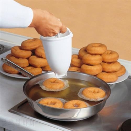 플라스틱 도넛 제조기 기계 금형 DIY 도구 주방 과자 굽기 도자기 만들기 굽