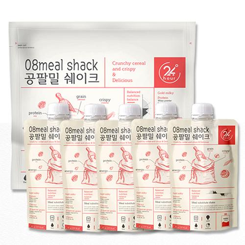 식사대용 아침 한끼 단백질 다이어트쉐이크 공팔밀 60g 5포, 1세트