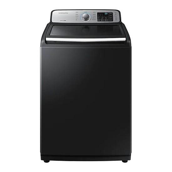 삼성 WA18R7550KV 전자동 일반세탁기 블랙케비어 18kg, 없음