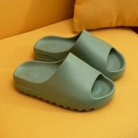 토앤토 쪼리 슬리퍼 샌들 캐주얼 남성과 여성 커플 두꺼운 여름 여성 솔리드 컬러 홈 실내 신발 톱니 모양의 가장자리 통기성 플립 플롭 (TOP 5735310643)