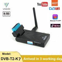 DVB T2 지상파 디지털 TV 수신기 H.265/HEVC HD TV 디코더 10 비트 이탈리아 크로아티아 스페인 지원 Meecast Youtube TV 튜너 위성 TV 수신기, 1개, 7601-WF (TOP 4922905007)