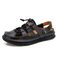 2021 토앤토 쪼리 플립플랍 여름 남성 남자 플랫 샌들 신발 패션 슬리퍼 패션 라이트 비치 여름 야외 로마 캐주얼 신발 통기성 (TOP 5844903567)