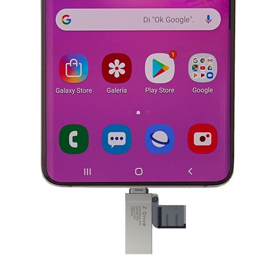 Z Drive C타입 OTG USB 메모리 32GB 64GB 128GB 256GB 512GB USB메모리