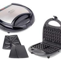 큐티 와플 그릴 샌드위치 기계 3in1 멀티 스낵 메이커, 상세페이지 참조 (TOP 5316209545)