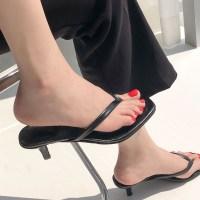 [당일발송] 꼼꼼구두 제시 와니피 여자 뮬 블로퍼 구두 쪼리 슬리퍼 힐 (6cm) (TOP 5611800348)