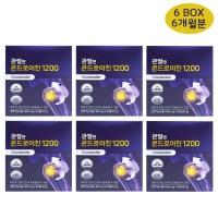 관절엔 콘드로이친1200 60정 관절연골건강, 6box (POP 4783465437)