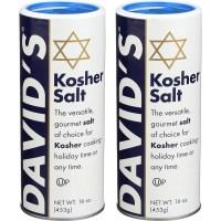 David's 데이비드 코셔 솔트 소금 453gx2개 Davids Kosher Salt, 1개, 453g (TOP 5222841491)