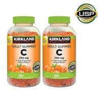 Kirkland Signature Vitamin C Adult Gummies 커클랜드 비타민C 250mg 성인 구미 180정 2팩, 1개, 1 (TOP 2275604415)