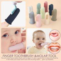100% 식품 안전 승인 부드러운 실리콘 어린이 제품 개인화 된 칫 솔 머리 유아 아기 Teether 장난감 아기 물건 Toothbrushes , 1개, 4, CHINA (TOP 5626028210)