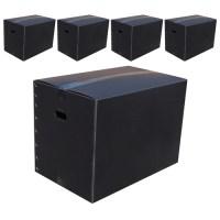 네오비 이사박스 5개묶음, 7호(700×400×500), 검정 (TOP 5375817056)