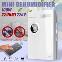2-2.2L 220V 홈 오피스 제습기 미니 건조제 소형 LED Discplay 공기 청정기 기계 자동 전원 끄기 제습기, 협력사, StyleA 업그레이드 (TOP 5548384417)