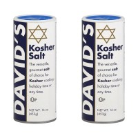 David's Kosher Salt 데이비드 코셔 솔트 16.0Oz(453g) 2팩 (TOP 4343659082)