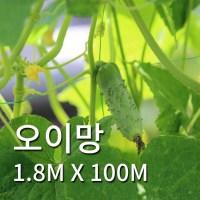 식물의집 오이망 오이 1.8m X 100m (TOP 1601272275)