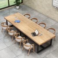 6인용 나무 원목 식탁 4인용 거실 확장형 회의용 세트, 옵션A (TOP 2011524703)