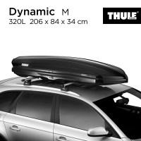 Thule Thule Dynamic M Smart 800 루프 러 기지 SUV 오프로드 설치 루프 박스, 펀치 프리, 다이나믹 M 스마트 320L (TOP 5376041129)