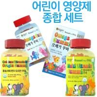 텐텐츄정 어린이 종합영양제 종합비타민+오메가3+칼슘비타민d 젤리세트 (POP 6019253354)