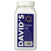 Davids David's Kosher Salt 데이비드 코셔 솔트 소금 1120g, 1팩 (TOP 1524550883)