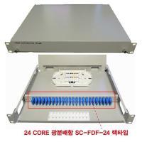 RUL491666KOREA(BLC8075) 1U FDF CORE 24 SC 광분배함 SC-FDF-24 랙타입 (TOP 5546714916)