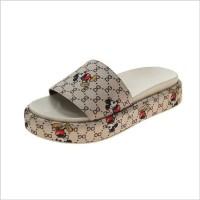 토앤토 쪼리 플립플랍 플랫 샌들 신발 패션 슬리퍼 럭셔리 브랜드 패션 라운드 발가락 럭셔리 대형 35-42 (POP 5920510904)