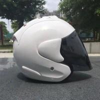 짭라이 오픈페이스 헬멧 램4 ram4 SZ 사무라이 아라이st 헬멧 arai, 흰색 (POP 4868582324)