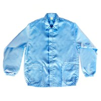 소노스코리아 제전복 상의 Y카라-정전기방지 방진복, 02_스카이블루 (TOP 294219605)