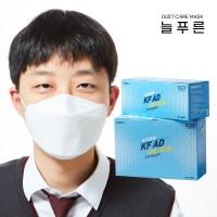 늘푸른 쿨 비말차단 마스크 KF-AD 중형 60매 (TOP 5381798104)