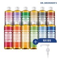 [닥터 브로너스] 퓨어 캐스틸 솝 475ml+펌프, 티트리 475ml+펌프, 상세설명 참조 (TOP 1273680562)