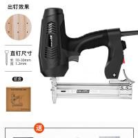 전기타카총 세트 전동 타정총 못박는기계 충전타카 네일건 스테이플건, AE (TOP 2108578079)