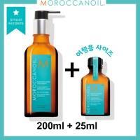 [Moroccanoil] 모로칸오일 헤어 트리트먼트 200ml+25ml, 오리지날 200ml+오리지날 25ml (POP 5359454520)
