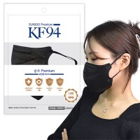 KF94 순수한 마스크 숨편한 여름용 국산자재 식약처인증, 100매, 화이트 (TOP 5222341871)