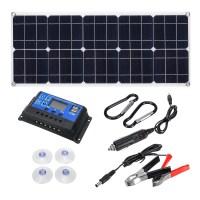 INSMA 18V 60W DC 태양광 패널+10A컨트롤러 풀 세트 (TOP 5130581621)