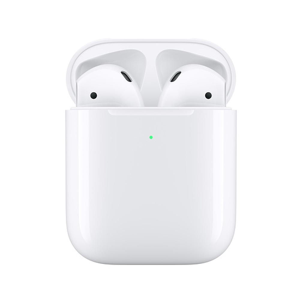 애플 국내 정품 에어팟2(2세대) 무선충전케이스 Apple AirPods MRXJ2KHA 블루투스 무선이어폰, MRXJ2KH/A