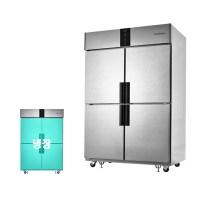 업소용 냉장고 45박스 스타리온 LG 서비스 주방 카페, 무광메탈 (TOP 5756417436)