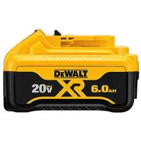 DEWALT 20V 맥스 배터리 프리미엄 6.0Ah (DCB206) DEWALT 20V MAX Battery (TOP 1121411372)