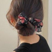 키메라제이 로즈 나비리본 똥머리 올림머리 당고 와이어 밴드 3color (POP 5774793782)