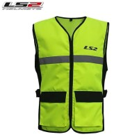 공업용 반사 안전 조끼 작업복 건설 형광 보안 오토바이 바이크 라이더 베스트 4계절, 2XL + 1개 (TOP 5377598688)