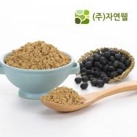 자연웰 100% 국산 볶음 검은콩가루 250g 선식 곡물가루 콩가루 (TOP 57094094)