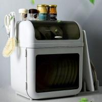 2단 설거지 식기 건조대 주방 그릇 접시 뚜껑 덮개 건조기 건조박스 선반 이유식 그릇정리 (TOP 5685826552)