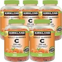 커클랜드 비타민C 250mg 180구미 5팩, 1개, 기본 (TOP 5309654357)