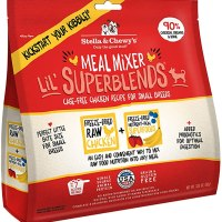 Stella & Chewy's Freeze-Dried Raw Cage-Free Chicken Meal Mixer Lil' SuperBlends Dog Food Topper 3, 1개 (TOP 5356016298)