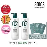 아모스 녹차실감샴푸 500g 민감성/탈모증상완화 2개, 상세페이지 참조 (TOP 5185142219)
