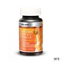 네츄럴플러스 비타민B군 9중복합 영양제 비타민C B1 B2 B6 B12 나이아신 비오틴 엽산 판토텐산 함유 1통 (TOP 344413418)